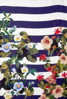 Decoy Flower Stripe Tank Dress by Mother of Pearl