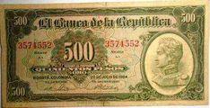 ¿Un billete de $500 cuesta $300 millones? Folding Money, Costa, Vintage World Maps, Mexico, History, War, Old Money, Golden Roses, Patriotic Symbols