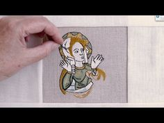 This Recreation of Medieval Embroidery Is a Mesmerizing Callback to the Middle Ages (Video) Medieval Embroidery, Gold Embroidery, Embroidery Needles, Cross Stitch Embroidery, Embroidery Patterns, Sewing Patterns, Bayeux Tapestry, Medieval Tapestry, Iris Van Herpen