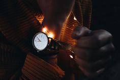 watch + fairy lights // do something drastic //  // anna aquino //