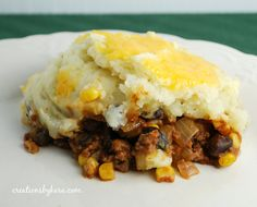 This is a nice change from regular Shepherd's Pie. My family actually prefers it!