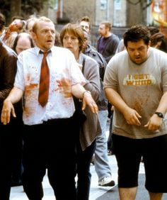 9e86c726ee434500ed10c248d391aa01 bill bailey nick frost simon pegg hilarious brit run, fat boy, run shaun of the dead Shaun of the Dead Meme at fashall.co