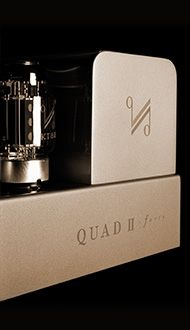 Since Peter Walker founded the business in 1936, all Quad products have displayed an originality in design, born from a full and proper understanding of every aspect of sound reproduction. A world leader in audio amplifier and electrostatic speake...