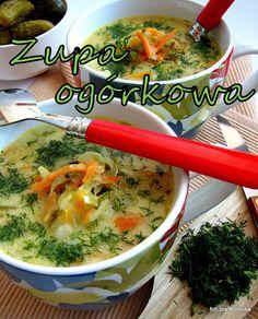 Polish Recipes, Great Recipes, Soup Recipes, Vegan Recipes, Cooking Recipes, Vegan Gains, Easy Food To Make, Veggie Dishes, I Love Food