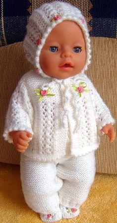 Skipper The Doll Free Knitting Patterns Free Knitting Hand B.-Skipper The Doll Free Knitting Patterns Free Knitting Hand Bag Patterns Skipper The Doll Free Knitting Patterns Free Knitting Hand Bag Patterns - Baby Cardigan Knitting Pattern, Baby Knitting Patterns, Free Knitting, Knitting Dolls Clothes, Crochet Doll Clothes, Baby Born Clothes, Girl Doll Clothes, Knitted Doll Patterns, Knitted Dolls