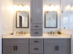 Visit our Bathroom Projects Gallery! You'll find bathroom displays, kitchen cabinets, bathroom cabinets, appliances, and more. Shower Cabinets, Modern Master Bathroom, Model Homes, Kitchen And Bath, Cupboard, Vanity, Bathroom Remodeling, Usa, Store