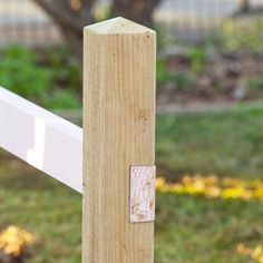 If I ever want to make a picket fence