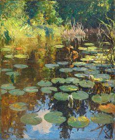 Lily Pond, Frank Weston Benson