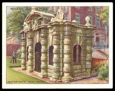 "https://flic.kr/p/8yUK4Z | Cigarette Card - Water-Gate, Embankment | Wills's Cigarettes ""Old London"" (series of 25 issued in 1929) #25 Water-Gate, York House, Embankment"