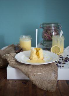Lemon Curd Lava Cake