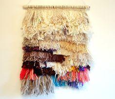 Waterfalls  Woven Tapestry by LIZTOOHEYWIESE