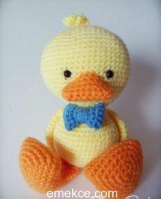 Organik örgü oyuncak amigurumi ördek yapılışı sitemizde örgü severleri beklemektedir. Keyifle örebilirsiniz.