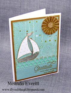 If You Bling It: September Stamp of the Month Blog Hop - Blessed Beyond Measure