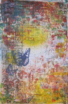 25/5 Flutterby   Moi Art Mixed Media / Art Journal