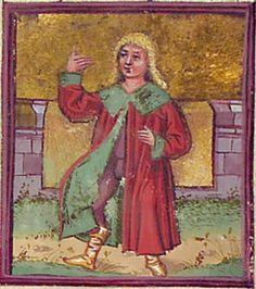 Astrologisch-astronomisch-mantische Sammelhandschrift / Heidelberger Schicksalsbuch Illustrationen: Berthold Furtmeyr und Werkstatt (Thomas Schilt? Cod. Pal. germ. 832 [Regensburg], nach 1491 Folio 76r