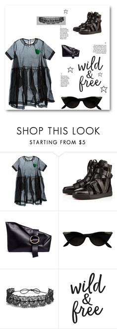 """""""ALL BLACK"""" by michelle858 ❤ liked on Polyvore featuring Peter Jensen, Liebeskind, Fallon and allblack"""