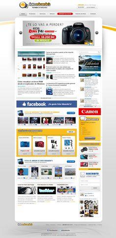 Casa de fotografía Foto Eduardo´s diseño y desarrollo Web con Tecnología Web 2.0 Noticias on-line Catálogo de Productos Sistema de de Revelado On-line Sistema de fotos para visitantes Sistema de Servicios Fotográficos Varios módulos