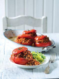 Rajčata s božskou náplní Bruschetta, Ethnic Recipes, Food, Essen, Meals, Yemek, Eten