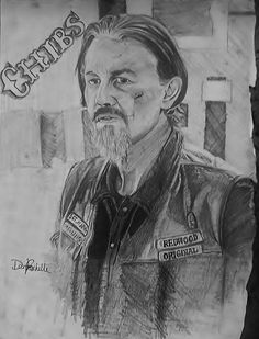 "Soa Juice Scalp Tattoo | Tommy Flanagan as ""Chibs"" on SONS OF ANARCHY"