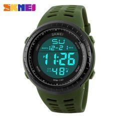 SKMEI Shock Resistant LED Digital Watch