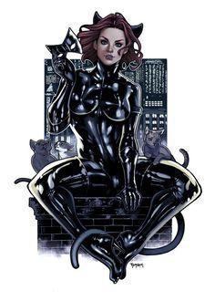 Catwoman by Elizabeth Torque