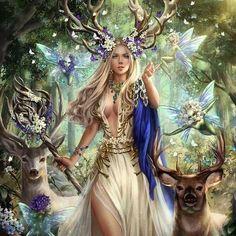 Fantasy Girl, Chica Fantasy, Fantasy Art Women, Beautiful Fantasy Art, Beautiful Fairies, Beautiful Goddess, Fantasy Fairies, Goddess Of Love, Fantasy Artwork