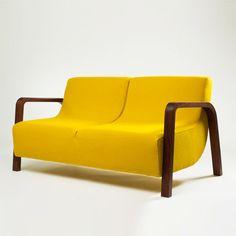 Cute and Curvy Sofa