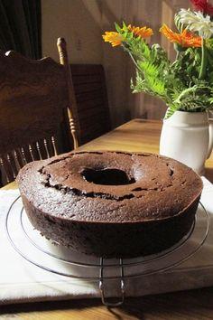 Torta de chocolate a la naranja.