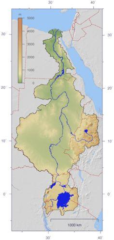 Nile River- Located in Ethopia, Sudan, Egypt, Uganda,Demorcratic Republic of the Congo Kenya Tanzania Rwando Burundi South Suebun And Northeastern Afrcia.