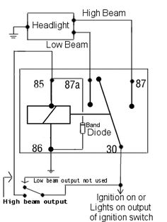 9e86fea0d4f50ae13499da1b6c50bc06 bobbers cafe racer?b=t best relay wiring diagram 5 pin wiring diagram bosch 5 pin relay