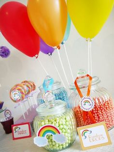 Hostess with the Mostess® - Over The Rainbow Birthday Party