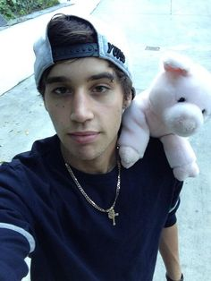 Jai and his pig hahaha