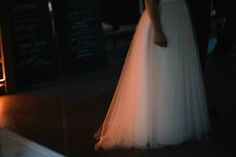 Real wedding in Finland. Dress made by Pukuni (www.pukuni.fi). Wedding dress with Marimekko Lumimarja and tulle. Photography / Jere Satamo.