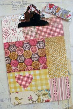 modge podge clipboards @cheryl clutter this would be a cute retreat gift!