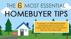 FROM THE BLOG  6 Most Essential Home Buyer Tips that industry experts would actually recommend and are worth spending your valuable time on.  LINK IN BIO http://ift.tt/1Sgvpdz  www.tinablackmon.com http://ift.tt/26ea3DG #Tulsa #TulsaOklahoma #Bixby #BrokenArrow #Owasso #Jenks #TulsaMetro #RealEstate #Realtor #KellerWilliams #TopProducer #LuxuryHomes #HomesForSale #HomeBuyer #HomeSeller #Blog #Tips