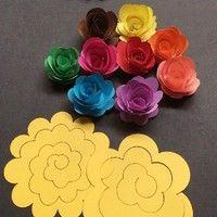 Wish   20pcs Rose Quilling Paper Mixed Color Origami DIY Paper Craft