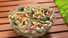 Salad's a snap for tonight's barbecue! A box of Suddenly Salad® mix and a few extras are all you need.