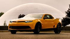 Bumblebee's new look for fourth Transformers film