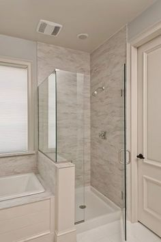 75 Beautiful Small Bathroom Shower Remodel Ideas 2019 75 Beautiful Small Bathroom Shower Remodel Ideas The post 75 Beautiful Small Bathroom Shower Remodel Ideas 2019 appeared first on Shower Diy. Small Bathroom With Shower, Shower Tub, Bathroom Showers, Master Shower, Bathroom Black, Shower Enclosure, Master Tub, Shower Stalls, Tile Showers