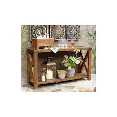 Benchwright Entertaining Console Table U0026 Hutch | Pottery Barn | Furniture |  Pinterest | Console Tables, Consoles And Barn