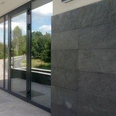 Łupek Kamień Elewacyjny Dekoracyjny Silver Grey naturalnie cięty 30x60x1,2 cm - Klink.pl