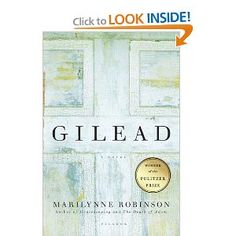 Gilead is one of those books that on the surface looks pretty boring.  But the author makes the story so rich, I couldn't help but sigh at the end--the kind of happy sigh that comes from reading something so beautifully done, you're happy to be a part of it.