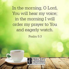 Psalm 5:3 #prayer