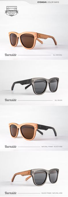 We are offering the very first all leather eyewear in 3 frames styles and 4 color ways! Meet the Burnside Frame #eyewear #brown #natural #mens #style #portland #stitch #handcrafted #sunglasses #shades #jbirdcollective #vegtan