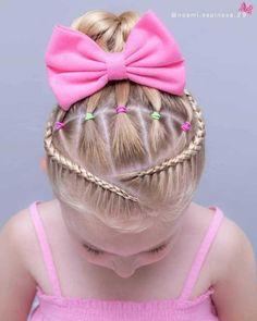 56 Dope Box Braids Hairstyles to Try - Hairstyles Trends Girls Hairdos, Lil Girl Hairstyles, Kids Braided Hairstyles, Box Braids Hairstyles, Hairstyle Ideas, Teenage Hairstyles, Braided Updo, Prom Hairstyles, Bun Braid