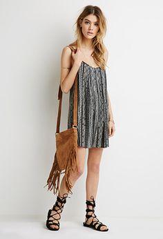 Ornate Stripe Cami Dress | Forever 21 - 2000076798