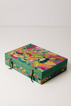 26 Best Wooden Home Accessories Painted Trunk, Painted Wooden Boxes, Painted Jewelry Boxes, Wood Boxes, Hand Painted, Handmade Furniture, Painted Furniture, Wooden Box Crafts, Decoupage Art