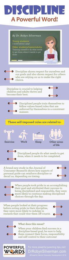 Discipline - Powerful Words Character Development - October 2015