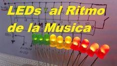 """✅ LEDs al Ritmo de la Música """"Vumetro"""" (Como se hace)"""