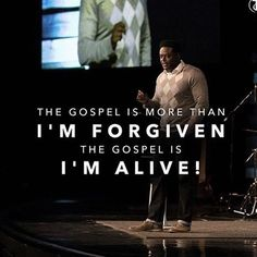 From @derwinlgray @transformationchurch  I was dead in sin! #goodensandthegospel #goodgospelpreaching #lifefromtheemptytomb #routeofthecross #postthecross